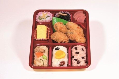 秋の新商品 広島県江田島産カキフライ弁当のご案内です