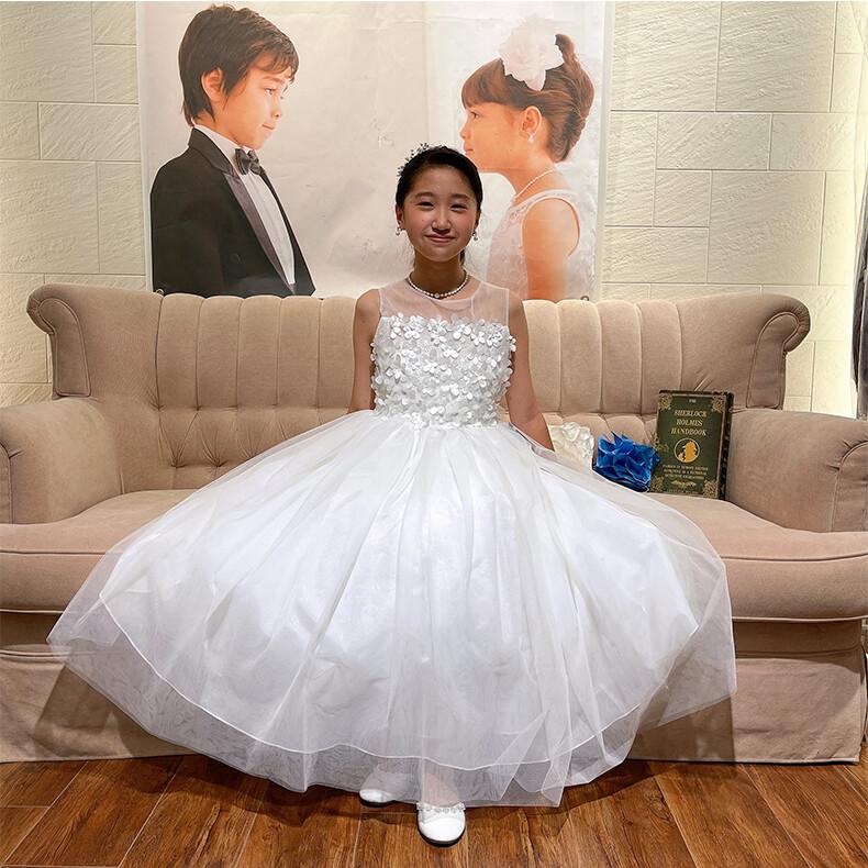 お客様写真館 ドレスに合うヘアスタイルをご提案します♪