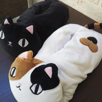 猫3兄弟もちもちティッシュカバー