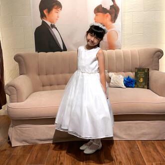 お客様写真館 可憐な輝きが美しいドレス